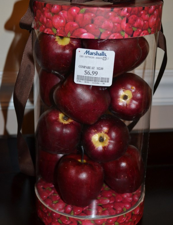 """""""Decorative Red Apples"""""""