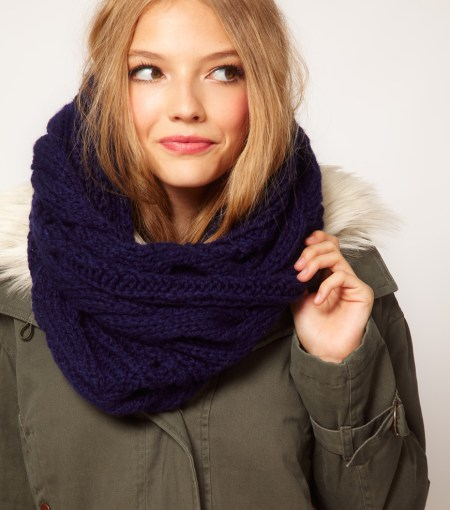"""Cable Snood Scarf"""