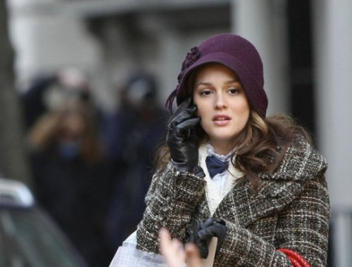 """Leighton Meester Cloche Hat"""