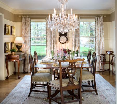 """elegant dining room """