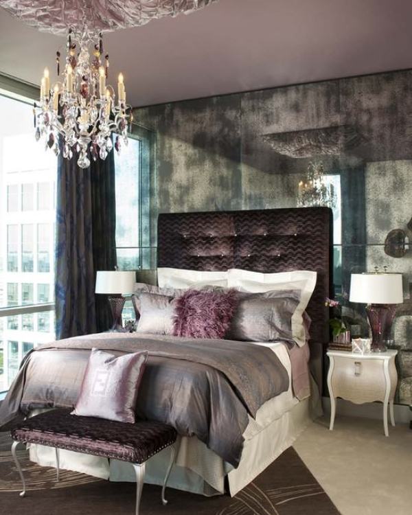 """Hollywood Glam Bedroom"""