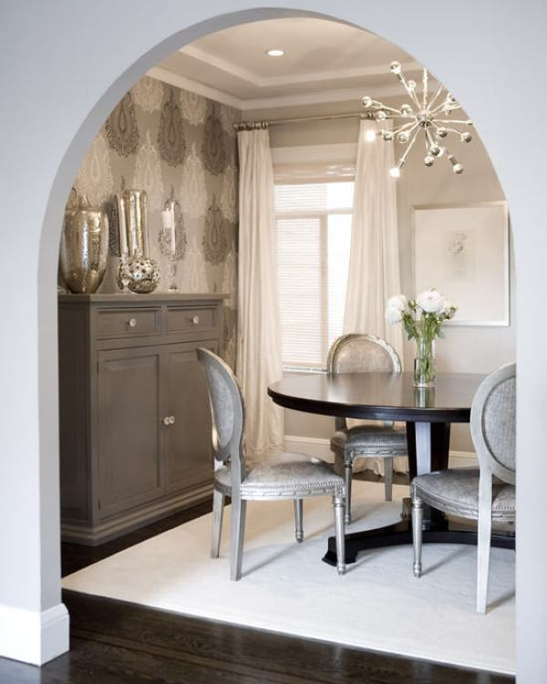 """Hollywood Regency Dining Room"""
