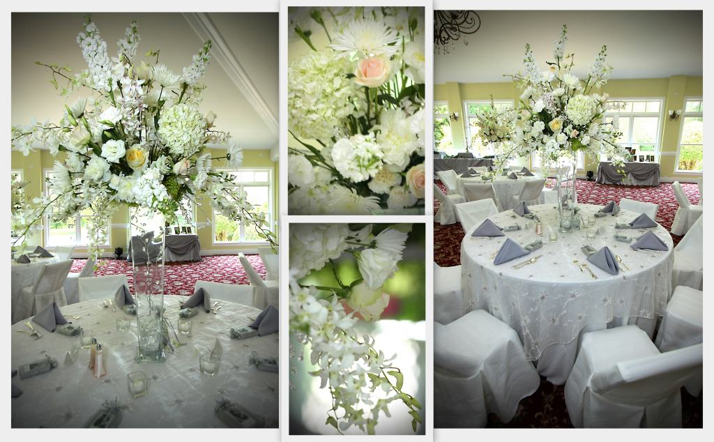 Wedding Flower Centerpieces