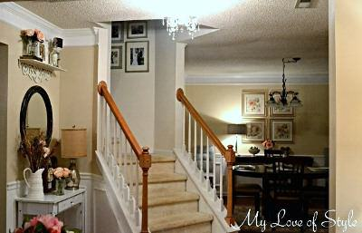 budget foyer makeover