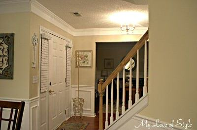 foyer makeover