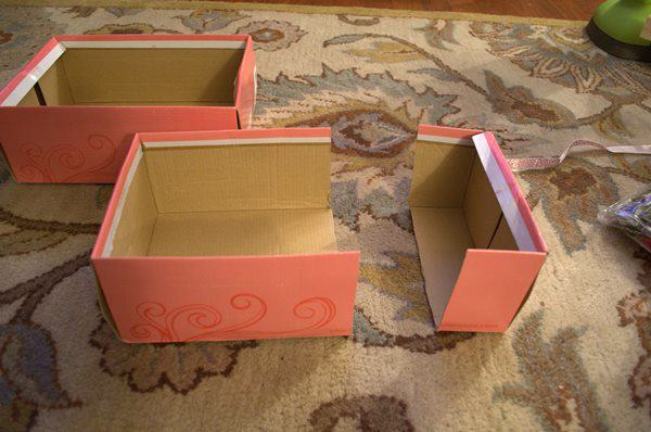 cut Vertical Shoe Box