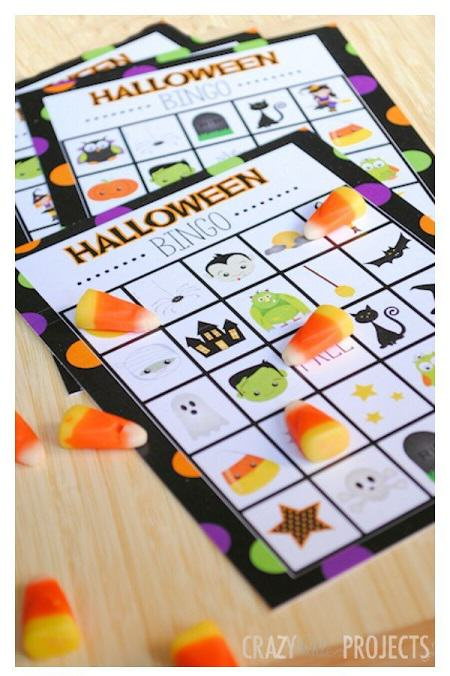 Free Halloween Printable Bingo
