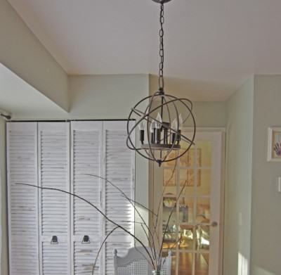 Restoration Hardware Inspired Orb Chandelier