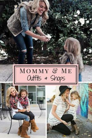 Mommy and Me outfit Ideas and Shops
