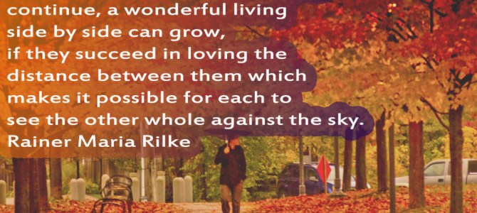 A wonderful living side by side can grow
