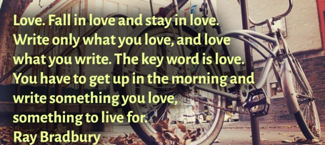 Fall in love and stay in love, that is the key word