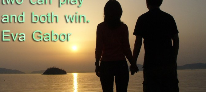 Love is a game with two winners