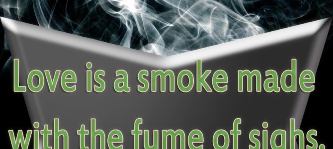 Smoke made with fume of sighs
