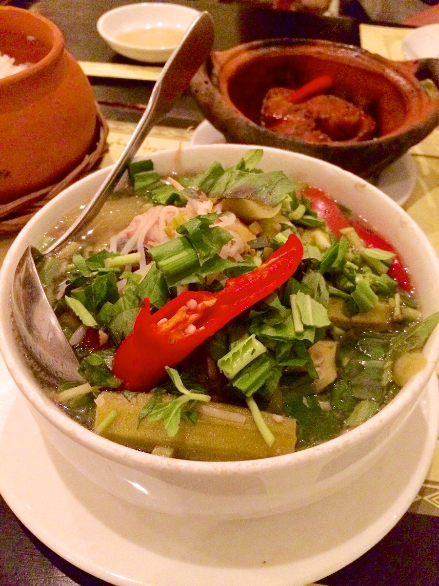 Canh Chua Hot And Sour Soup