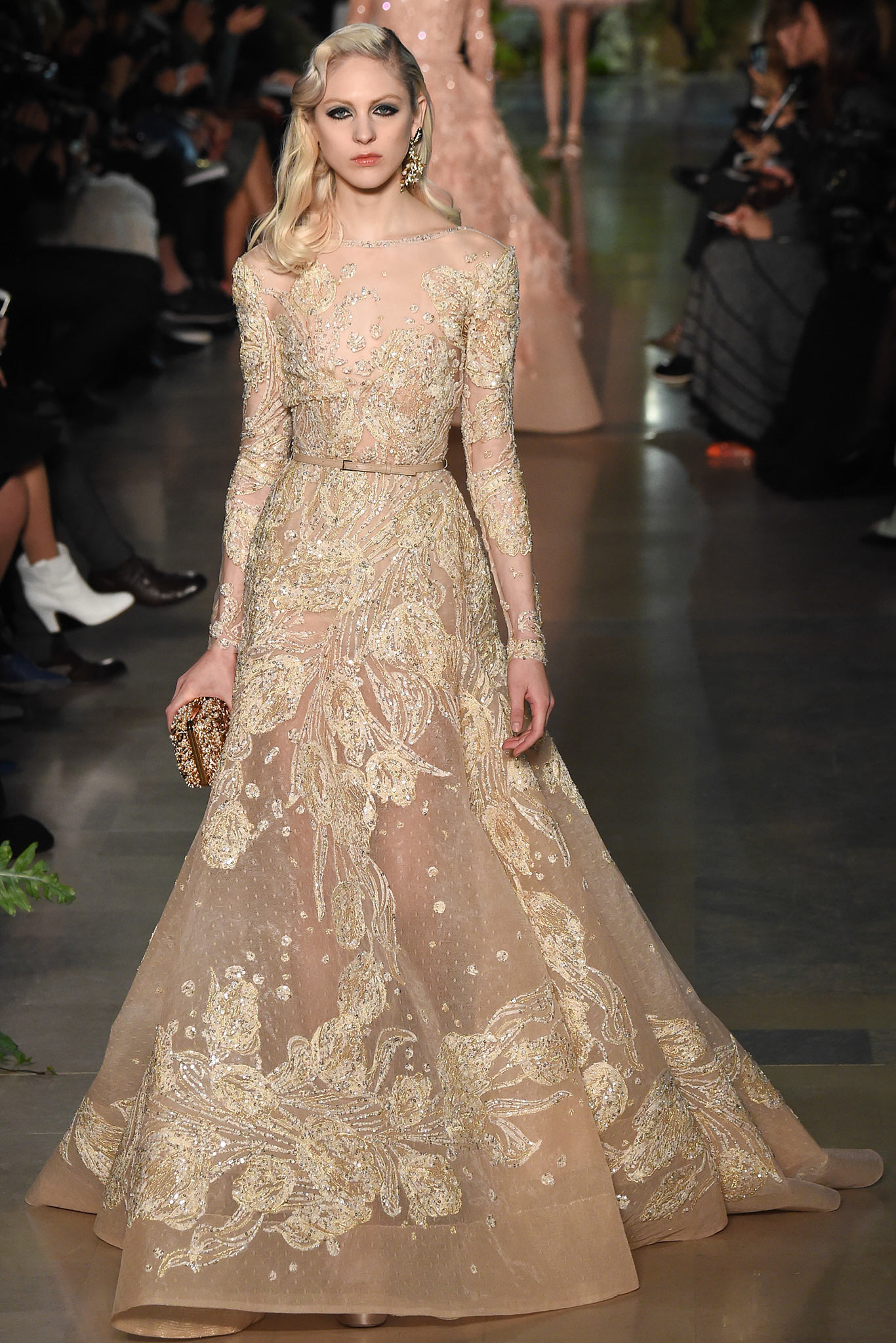 RUNWAY Elie Saab Spring 2015 Couture Collection