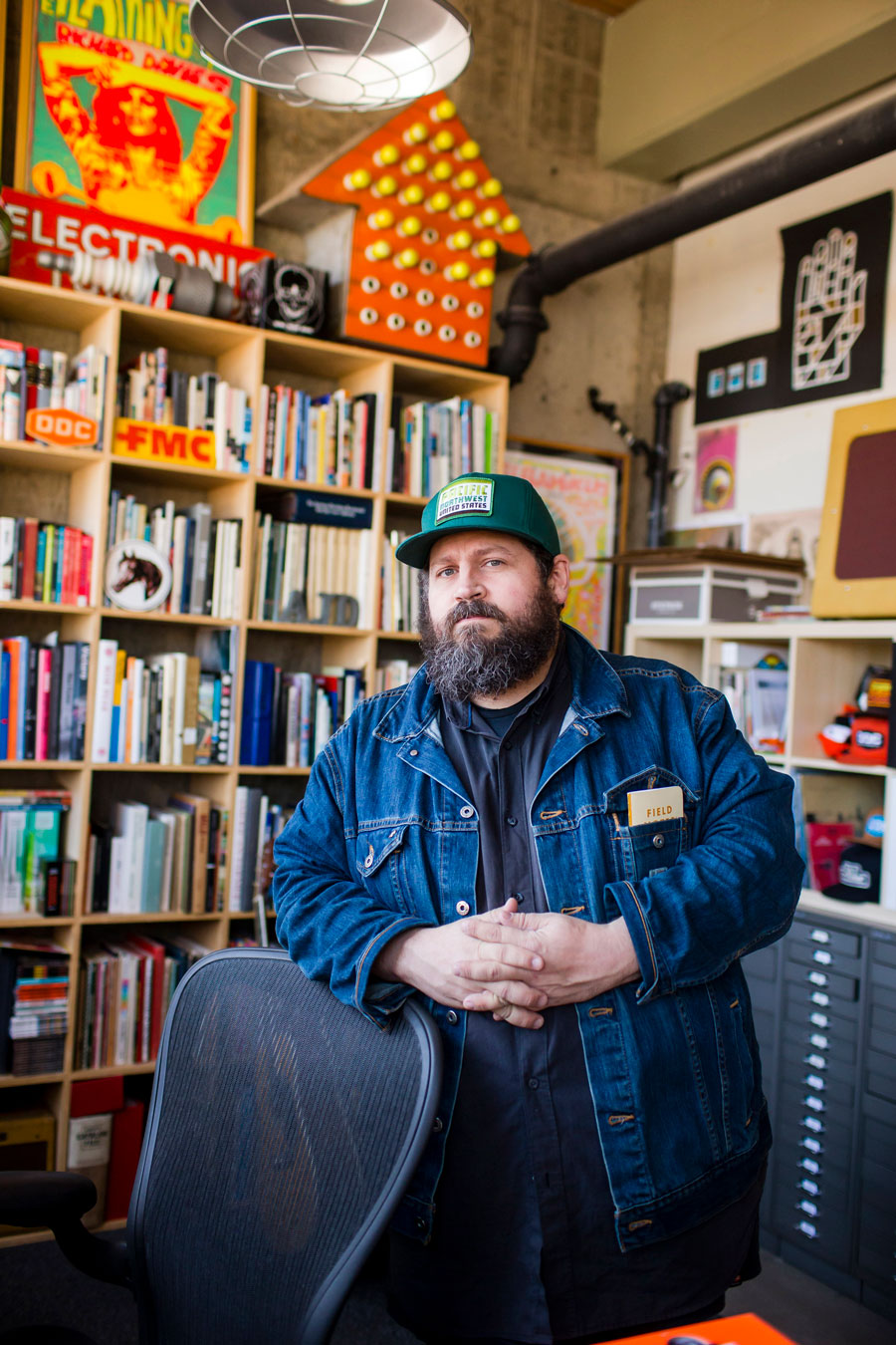 Alumni Profile: Aaron James Draplin, Minneapolis College of Art and Design