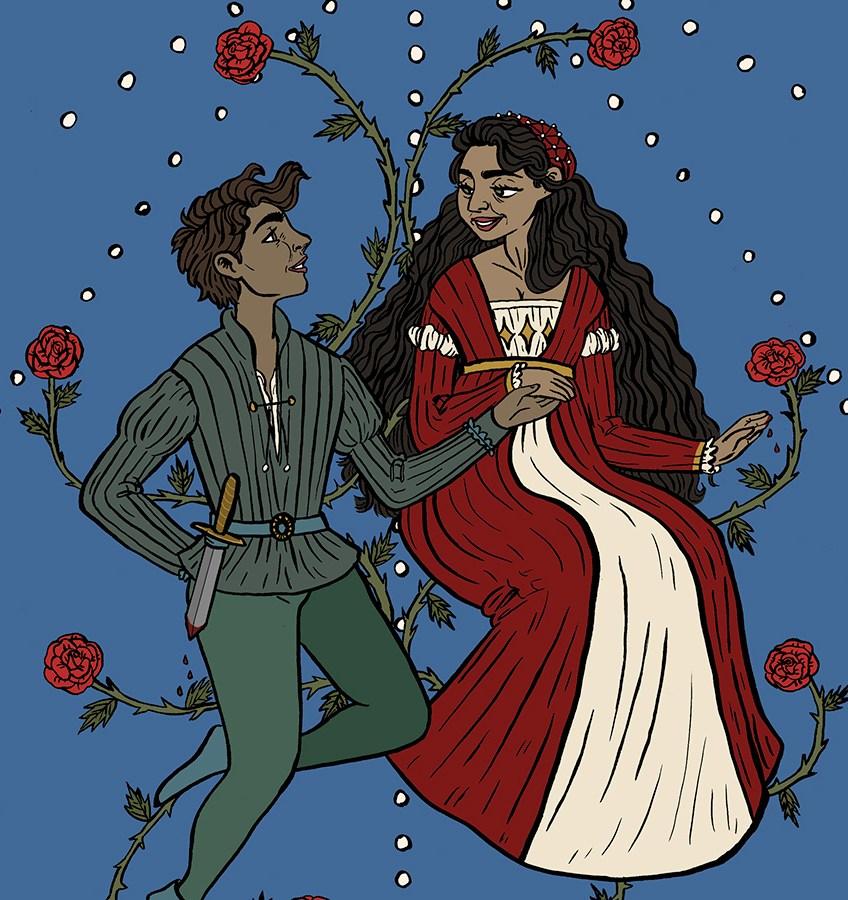 Brianna Quintero, Romeo +  Juliet, Illustration, Minneapolis College of Art and Design
