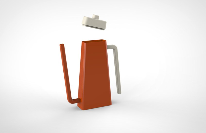 3D Render, Kettle, Rose Colacino, Minneapolis College of Art and Design, Product Design