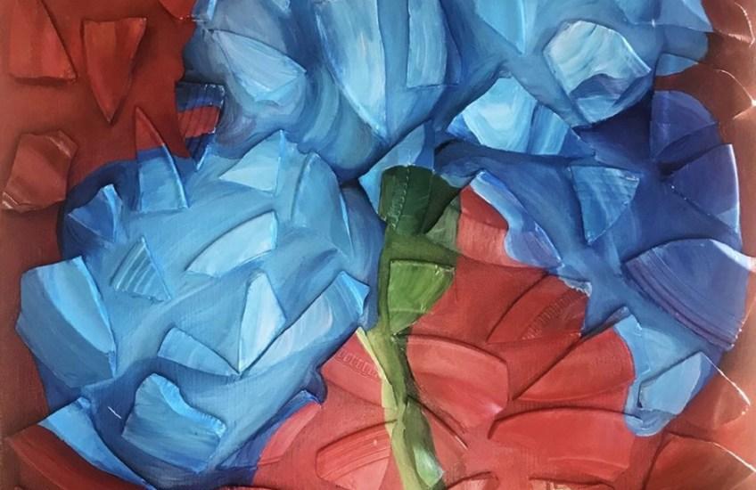 """Feeling Blue"" Celena Moulton, Syracuse University, Studio Arts"