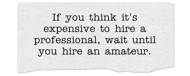 Entrepreneur: 3 mistakes that make you seem like an amateur ...