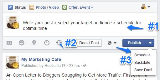Facebook Organic Post Targeting