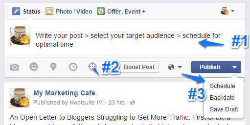 Facebook Organic Post Targeting