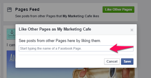 Like Other Pages