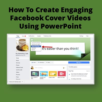 How to create facebook cover videos using powerpoint