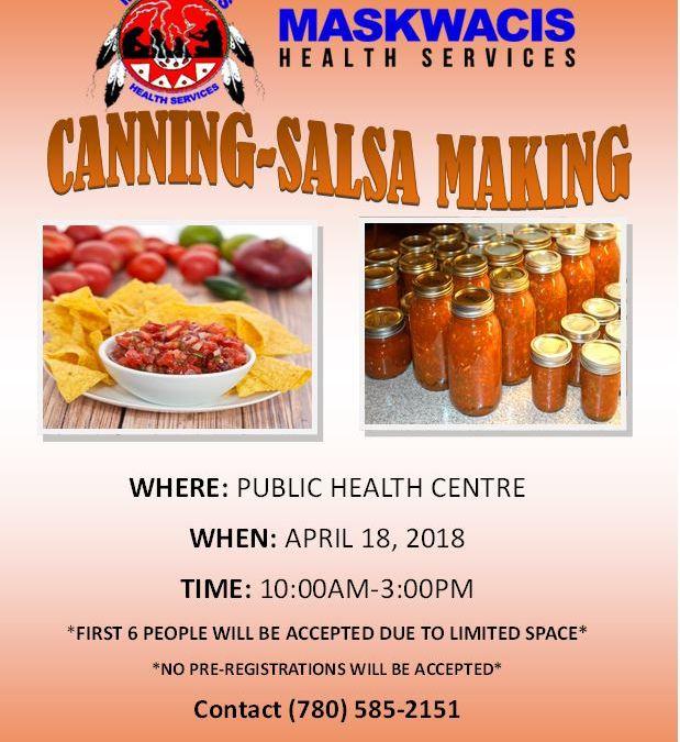 Public Health Salsa Making