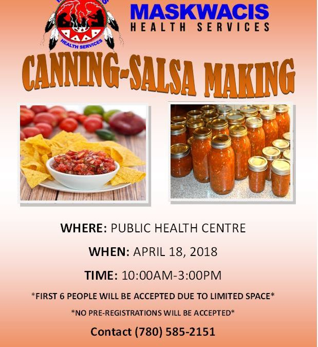 Public Health Salsa Making