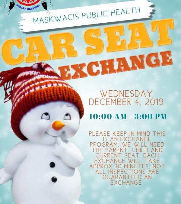 December Car Seat Exchange