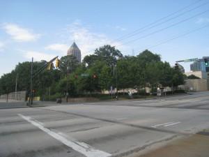 Midtown Atlanta Hilton Hotel Site