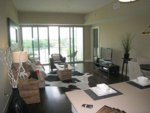 White Provision Condominium Interior