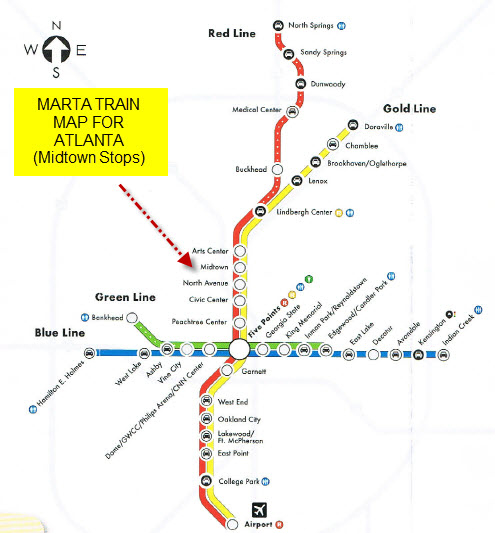 MARTA and Midtown Atlanta