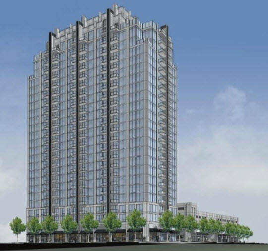 Midtown Crossing Apartments: 100 6TH Street Apartment Tower Proposed For Midtown Atlanta