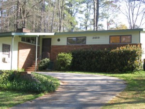 Atomic Ranch Homes Historic Northwoods Subdivision Doraville