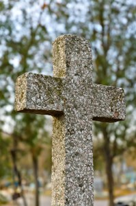 Closeup image of the cross