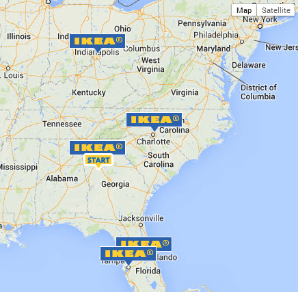 IKEA STORES NEAR ATLANTA