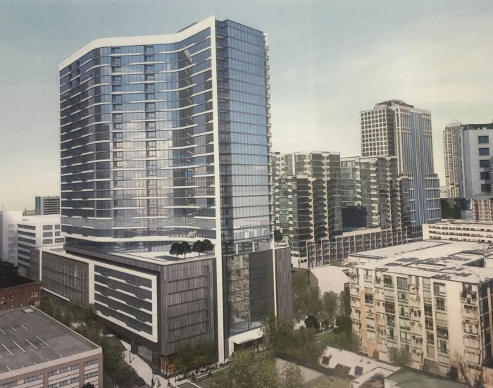 Hanover Midtown Proposed for Peachtree & 7th Streets September 8, 2015