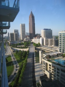 midtown atlanta skyline Bank of America