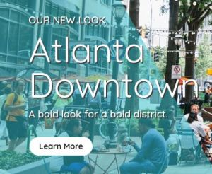 New website for Atlanta Downtown