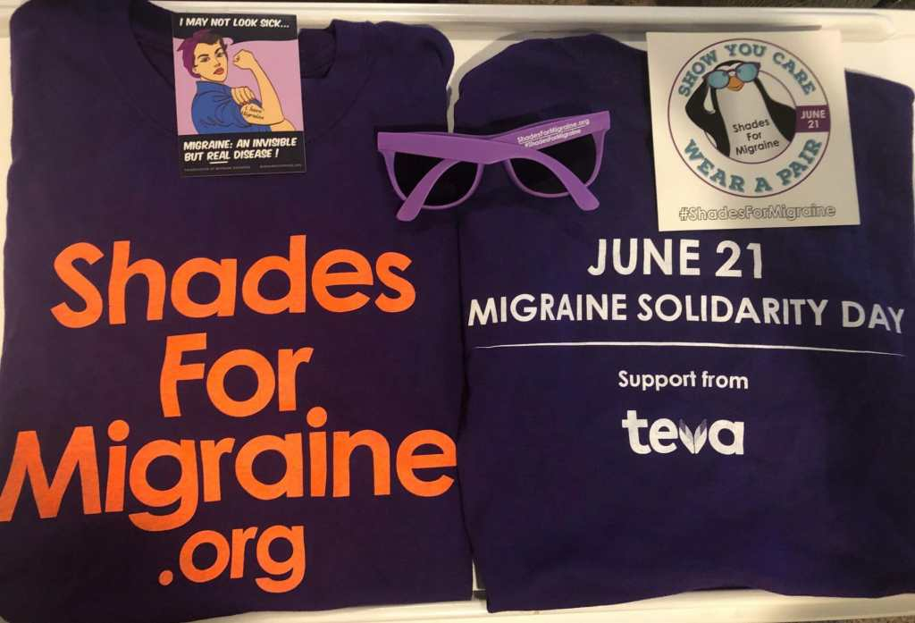 Shades for migraine world migraine day