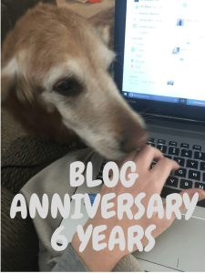 Blog Anniversary: 6 years