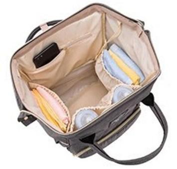 Lifecolor Diaper Bag Inside