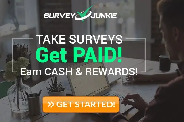 survey junkie, earn money online