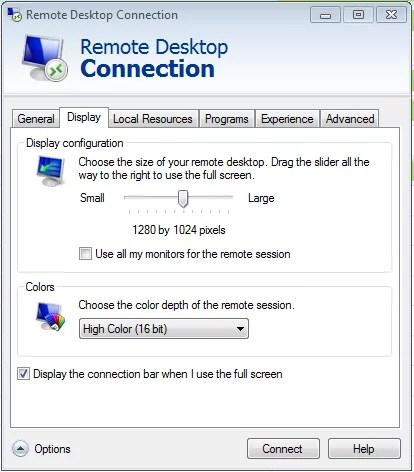 RemoteDesktopDisplayPanel