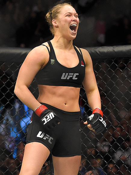 Ronda Rousey fears high-definition camel toe