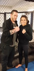 A.J. Hiller and Claudia Gadelha open Claudia Gadelha's MMA & BJJ in Stroudsburg, PA