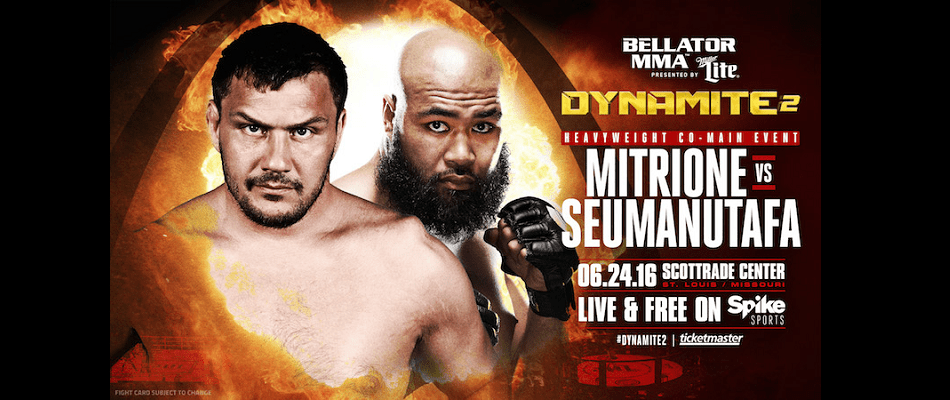 Matt Mitrione Debuts at Bellator MMA Dynamite 2