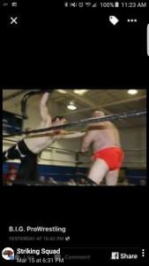 Ken Sweeney wrestling